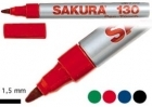 SAKURA PEN TOUCH 130 M 1,5MM PUNAINEN