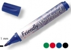 TAULUTUSSI FRIENDLY WHITEBOARD MARKER FINE 4-VÄRIÄ