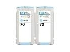 HP CB351A NO.70 CYAN 2-PACK