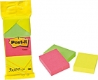 POST-IT 6812 51x38MM NEON PIIKKIPAKKAUS