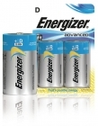 ENERGIZER ALKALINE ADVANCED D / 2 kpl