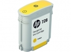 HP 728 - F9J61A Yellow