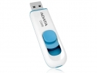 ADATA 32GB USB Stick C008 Slider USB 2.0 white blue