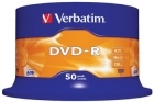 Verbatim DVD-R 16x 4,7GB spindle (50)